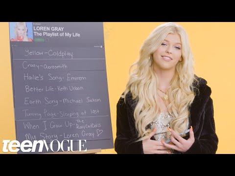 Xxx Mp4 Loren Gray Creates The Playlist To Her Life Teen Vogue 3gp Sex