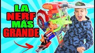 CREAMOS LA NERF MÁS GRANDE DEL MUNDO!!!
