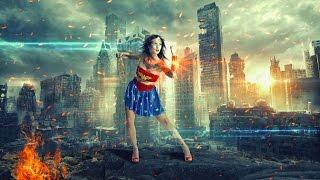 action women poster | photoshop manipulation tutorial cs6/cc