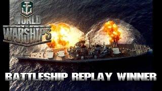 World of Warships - Battleship Replay Winner