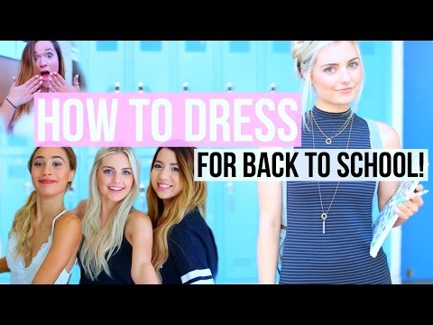 How To Dress for Back to School! | Aspyn Ovard