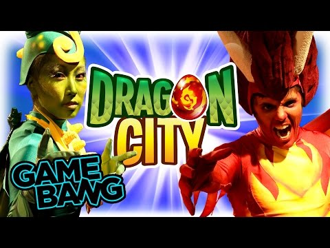 REAL LIFE DRAGON CITY BATTLE (Game Bang)