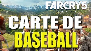 FAR CRY 5 - Emplacement des Cartes de Base-ball ( Grand Chelem )