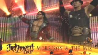 The Miz & John Morrison Custom Entrance (SmackDown Vs RAW 2010) (X Box 360)