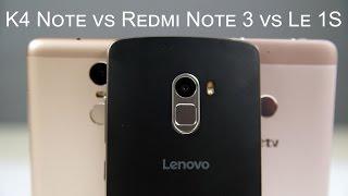 Redmi Note 3 vs Le 1S vs K4 Note - Fingerprint Scanner Comparison
