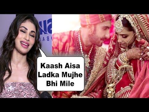 Xxx Mp4 Ranveer Deepika Marriage REACTION By Mouni Roy 3gp Sex