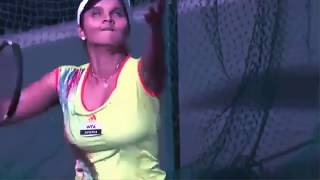 Ohh!! my god Sania Mirza looking so hot in Practice Match At Islamabad || Chumbakk