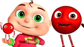 Five Little Babies Surprise Eggs - Color Song | Zool Babies Fun Songs | Nursery Rhymes