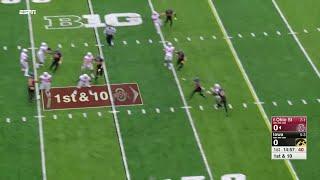 Amani Hooker Pick Six vs. Ohio State