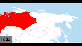 The Russian Conquest of Siberia: Every Year