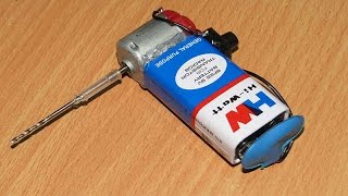 How To Make Mini Drilling Machine | Simple Method At Home
