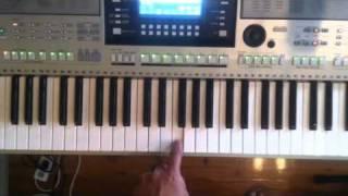 Raghupati Raghav Raja Ram  - Keyboard Notation