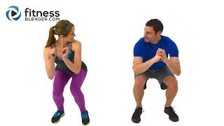 Quick Sweat Cardio Burst - Fast Fat Burning Cardio Workout with Kelli & Daniel