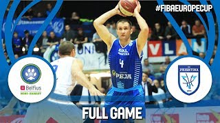 Belfius Mons-Hainaut (BEL) v Sigal Prishtina (KOS) - Full Game - FIBA Europe Cup 2017-18