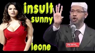 Dr Zakir Naik Making Super Fun Of Sunny LEONE In Latest Lecture