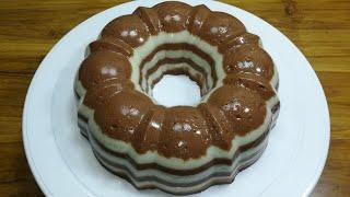 Chocolate Milk layer pudding/চকলেট মিল্ক লেয়ার পুডিং রেসিপি/Pudding Recipe/Milk Pudding Recipe