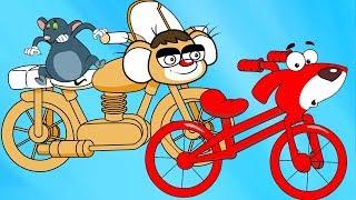 Rat-A-Tat |'Red Motorcycle Morph Mouse Motorbike Babysitting ►2'| Chotoonz Kids Funny Cartoon Videos