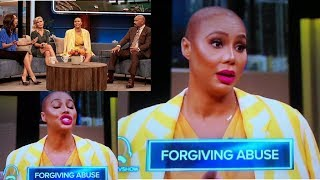 TAMAR BRAXTON talks about VINCE on the STEVE HARVEY SHOW!