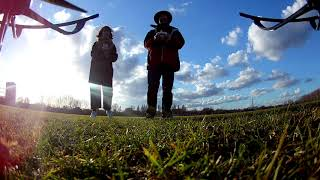 Camera Drone test flight