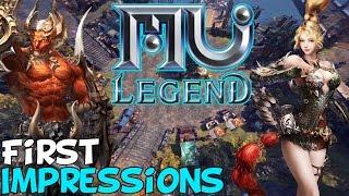 MU Legend Beta First Impressions