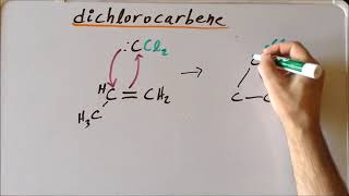 Dichlorocarbene: reaction with alkenes