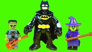 Lego Monsters Minifigures Series 14 Spooky Toys At Scooby Doo Haunted Mansion & Imaginext Batman