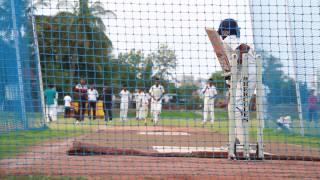 Hyderabad 8 Years Boy Charan Deep Net Practice - #Cricket Hyderabad