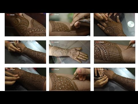 Xxx Mp4 Full Hand Mehndi Design Tutorial Front And Back Step By Step Latest Indian Mehndi Style 3gp Sex