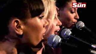 Sugababes - Freak Like Me (Live @ The Sun's Biz Sessions)