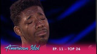 Marcio Donaldson: This Performance Will MELT Your Heart! | American Idol 2018