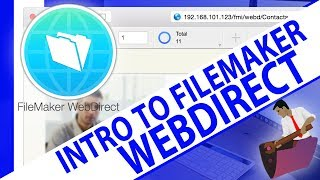 WebDirect Introduction-FileMaker WebDirect-WebDirect Training-WebDirect Videos-FileMaker Training