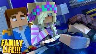 Minecraft LEAH & DONNY TAKE EVIL STEPMOM'S BLOOD SAMPLE FOR PREGNANCY TEST!!!