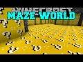 Minecraft maze world lucky block biome orespawn biome mod showcase