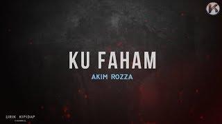 Zulhakim - Ku Faham   Lirik Video HD