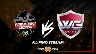 Mineski vs WG.Unity Mr.Cat Invitationals Game 1