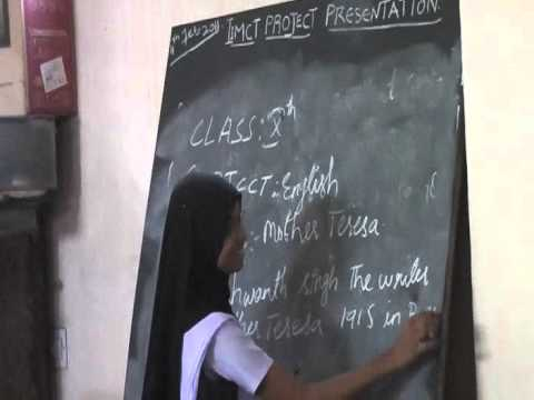 iimct school projects Uprising school nazren class X English motherteresa.mp4