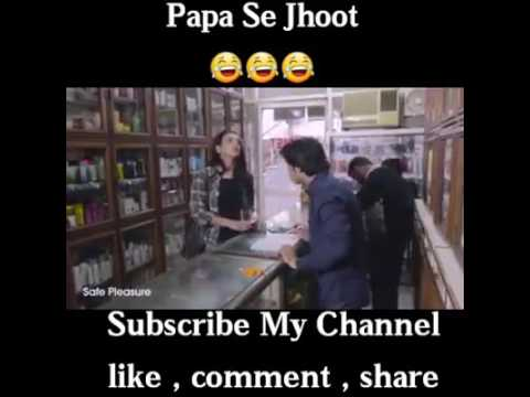 papa se jhoot || girl red handed buy a condom!! 2017