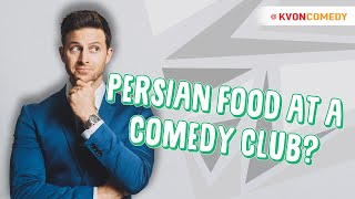 When PERSIANS order Food at an American Comedy Club 😂 🥘
