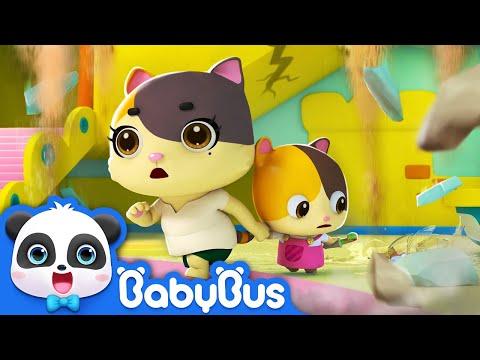 Xxx Mp4 Lari Kitten Mimi Ini Gempa Tim Penyelamat Super Panda Tips Keamanan Untuk Anak Anak BabyBus 3gp Sex