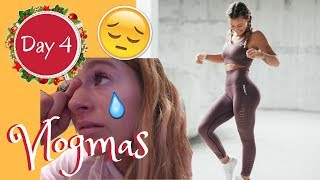 NEW GYMSHARK SEAMLESS TRY ON (ALL COLOURS) & BREAKING DOWN | Vlogmas Day 4