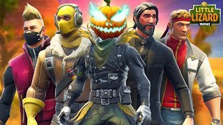 HOLLOWHEAD JOINS THE SUPERSTAR DANGER TEAM! - FORTNITE SHORT MOVIE