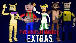 EXTRAS - Animatronics + Jumpscares / Five Nights at Maggie`s