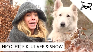 De liefde tussen Nicolette Kluijver en haar hond Snow - #1 Fikkie Famous