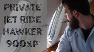 Private Jet Ride Hawker 900XP