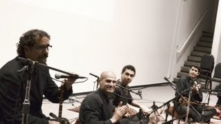 Shahram Nazeri- Commemoration of Maestro Zolfonoun- Stanford university