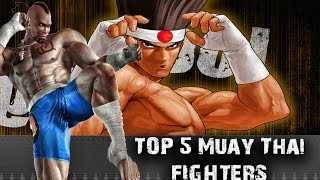 Top 5 Muay Thai Fighting Game Characters