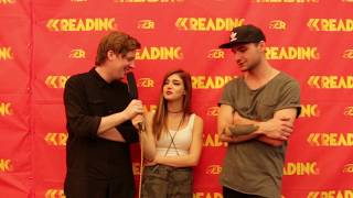 Against The Current | 11 Questions at Reading Festival