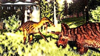 The Isle - SUCHO PROGRESSION, 3 REX TERRITORY CONFRONTATION, SUCHO VS TRIKE - Progression Gameplay