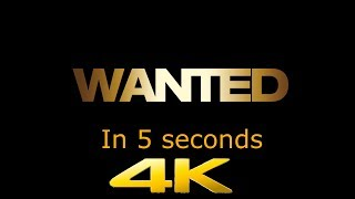Wanted In 5 Seconds (2160p)