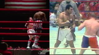 Rocky Balboa vs. Apollo Creed in real life